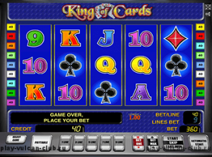 Играйте бесплатно в Вулкан Платинум в King Of Cards на