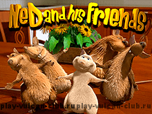 Проводите досуг на Русском Вулкане, и играйте в Ned And His Friends
