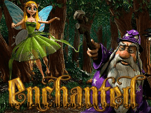 В зале Вулкан 24 автомат онлайн Enchanted